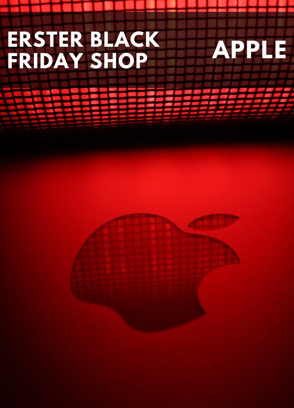 Apple als erster Black Friday Shop