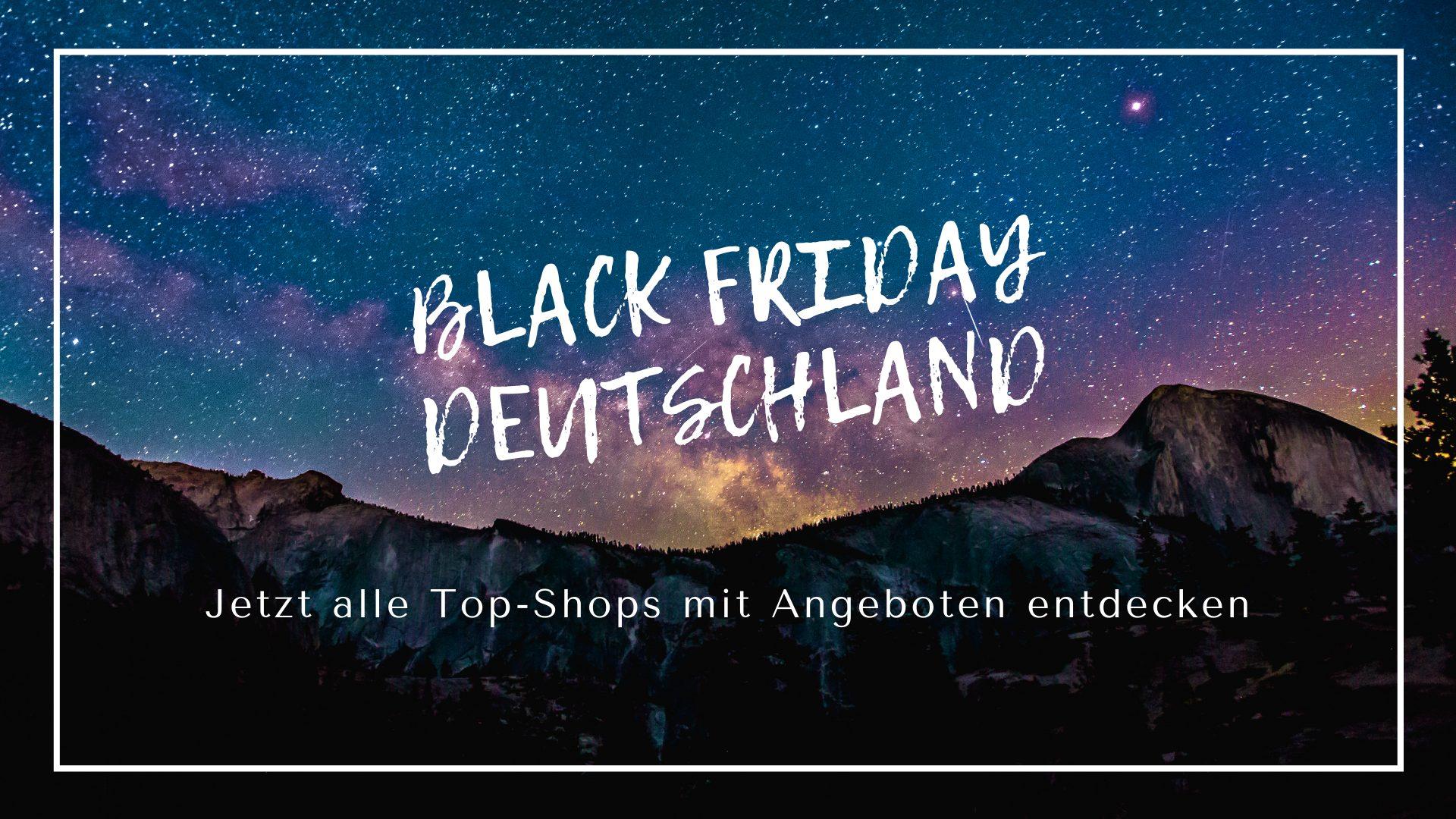 Black Friday Deutschland Shops